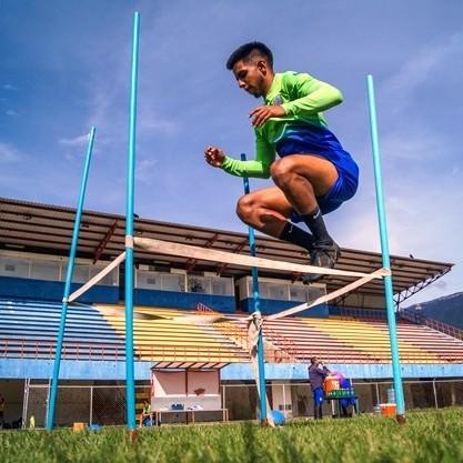 """Diario Frontera, Frontera Digital,  EMF.C., Deportes, ,Germán Contreras: """"Cada uno de los muchachos está dando el 100%  para el día que se nos dé la oportunidad de viajar estar a ritmo"""""""