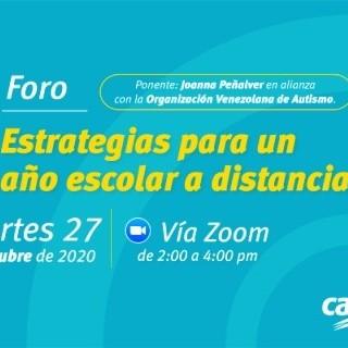 """Diario Frontera, Frontera Digital,  CANTV, VIDEOCONFERENCIA, Regionales, ,Cantv y OVA invitan a la videoconferencia  """"Estrategias para un año escolar a distancia"""""""