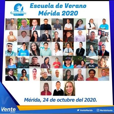 Diario Frontera, Frontera Digital,  VENTE MÉRIDA, Politica, ,Vente Venezuela en Mérida llevó a cabo la  Escuela de Verano Mérida 2020 de forma virtual.