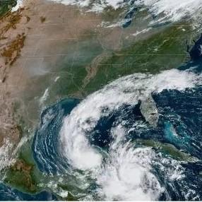 Diario Frontera, Frontera Digital,  HURACÁN DELTA, Internacionales, ,Delta ya es un huracán de categoría 4. Florida,  Louisiana y Alabama declaran emergencia