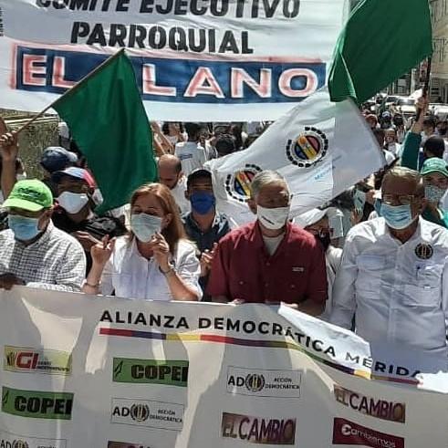 Diario Frontera, Frontera Digital,  CAMPAÑA AD, MÉRIDA, CIRCUITO 3, ALIANZA DEMOCRÁTICA, Politica, ,En Mérida comenzó la campaña electoral hacia la Asamblea Nacional