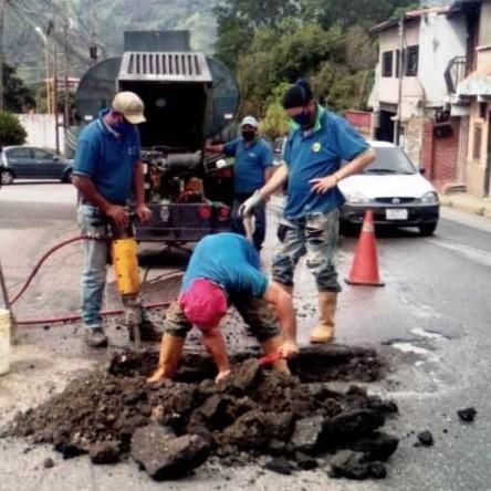 Diario Frontera, Frontera Digital,  AGUAS DE MÉRIDA, Regionales, ,Aguas de Mérida mantiene  un trabajo intenso en medio de la época de lluvias
