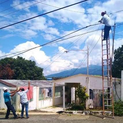Diario Frontera, Frontera Digital,  CANTV, Panamericana, ,Cantv reconectó servicios a 200 suscriptores de El Vigía