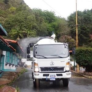 Diario Frontera, Frontera Digital,  BARRIO NUEVBO BARRIO TRICOLOR, Regionales, ,Misión Barrio Nuevo Barrio Tricolor  realizó otra jornada de desinfección en la parroquia Milla