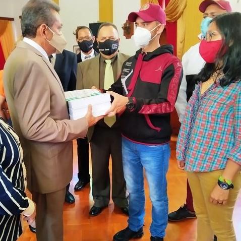 Diario Frontera, Frontera Digital,  PRESUPUESTO 2021, GOBIERNO DE MÉRIDA, Regionales, ,Gobernador de Mérida entregó ante el Clebm  Proyecto de Presupuesto 2021