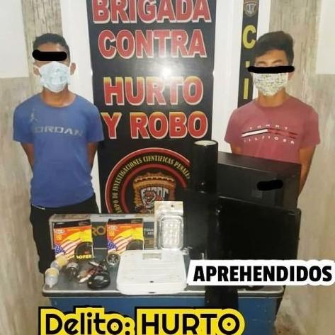 Diario Frontera, Frontera Digital,  DETENIDOS POR HURTO, Sucesos, ,CICPC EL VIGÍA APREHENDIÓ  A DOS ADOLESCENTE POR HURTO