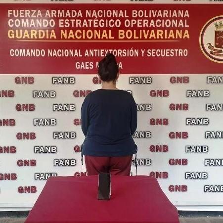 Diario Frontera, Frontera Digital,  GNB, Sucesos, ,CONAS EL VIGÍA CAPTURO A ESTAFADORA SOLICITADA  POR UN JUZGADO DE MÉRIDA EN BAILADORES