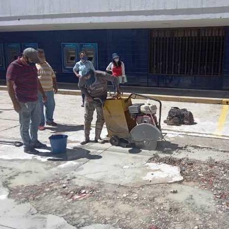 Diario Frontera, Frontera Digital,  ALCALDÍA DE MÉRIDA, ALCIDES MONSALVE CEDILLO, PAVIMENTO, MÉRIDA, Regionales, ,Iniciaron recuperación del pavimento  de concreto en el centro de Mérida