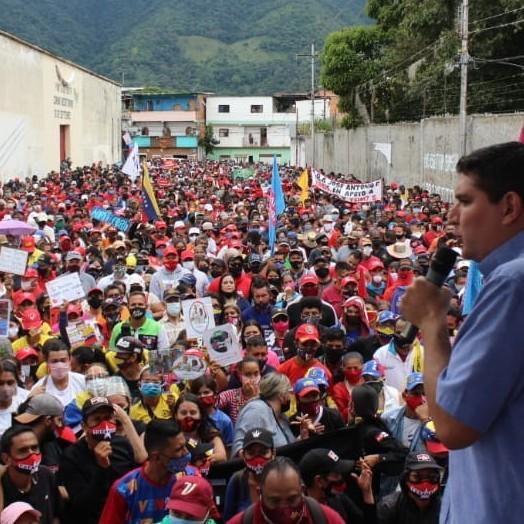 """Diario Frontera, Frontera Digital,  PSUV, Politica, ,Jehyson Guzmán en inicio de campaña:  """"Con los votos vamos a pulverizar a la oposición el 6-D"""""""