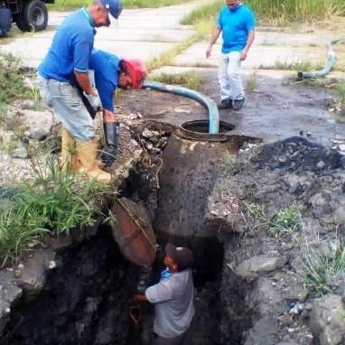 Diario Frontera, Frontera Digital,  AGUAS DE MÉRIDA, Regionales, ,Solventado colapso de aguas servidas  entre Iahula y Facultad de Farmacia