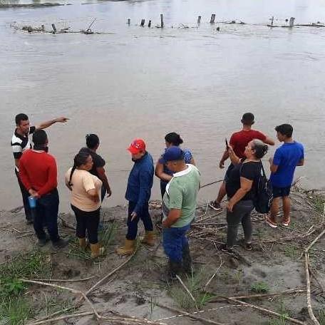 Diario Frontera, Frontera Digital,  ALCALDÍA DE PULGAR, Panamericana, ,REFUERZAN MURO DE CONTENCIÓN DEL RÍO CHAMA EN PUEBLO NUEVO EL CHIVO