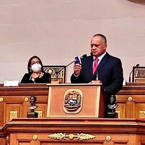 Diario Frontera, Frontera Digital,  ANC, DIOSDADO CABELLO, Nacionales, ,ANC presentó balance de gestión  en última sesión legislativa