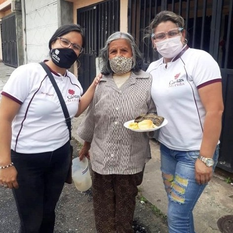 Diario Frontera, Frontera Digital,  CÁRITAS, MÉRIDA, Regionales, ,Cáritas Mérida compartió almuerzo navideño con 3200 abuelos