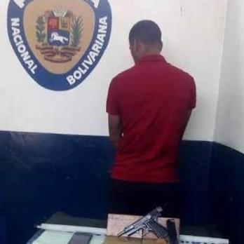 Diario Frontera, Frontera Digital,  DETENIDO, Sucesos, ,CPNB-Ejido aprehendió a ciudadano por  porte ilícito de  arma de fuego  solicitada en el Estado Zulia