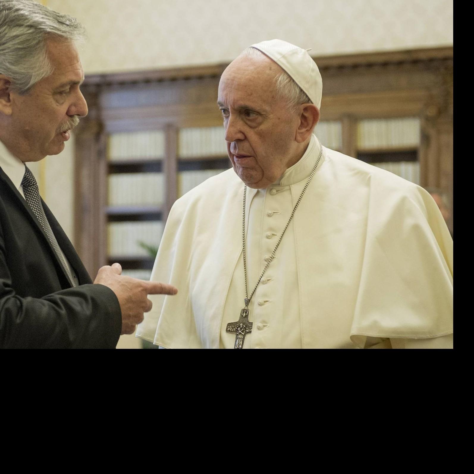 Diario Frontera, Frontera Digital,  PAPA FRANCISCO, Internacionales, ,Alberto Fernández apunta que el  Papa ayudará en la negociación con el FMI