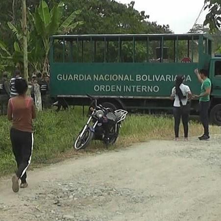 Diario Frontera, Frontera Digital,  JUSTICIA ROJA, Sucesos, ,Justicia roja acusa a obreros de la ULA en El Vigía  y no actúa contra invasores