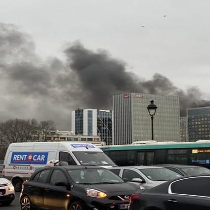 Diario Frontera, Frontera Digital,  ESTACIÓN LYON, PARIS, FRANCIA, DISTRUBIOS, Internacionales, ,Incendio se desata en estación  de Lyon en París tras disturbios