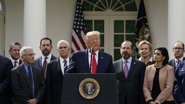 Diario Frontera, Frontera Digital,  D. TRUMP, Internacionales, ,Trump declara el estado de emergencia  por la pandemia del coronavirus