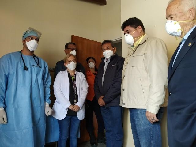 Diario Frontera, Frontera Digital,  IAHULA, despistaje de coronavirus, Salud, ,Habilitada área de triaje en Iahula para despistaje de coronavirus