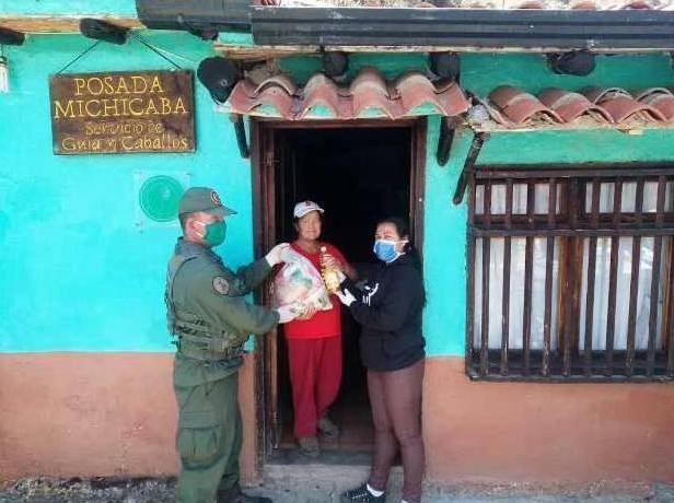 Diario Frontera, Frontera Digital,  MUNICIPIO RANGEL, Páramo, ,Más 1200 familias de Rangel recibieron el CLAP en sus casas