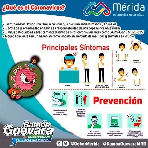 Diario Frontera, Frontera Digital,  GOBIERNO DE MÉRIDA, Salud, ,Corposalud despliega plan preventivo  ante propagación del Coronavirus