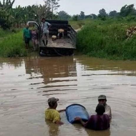Diario Frontera, Frontera Digital,  FAMILIAS AFECTADAS, INUNDACIÓN, SUR DEL LAGO, Sucesos, ,Desborde de río afecta a 135 familias entre Zulia y Mérida