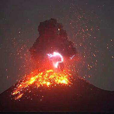 Diario Frontera, Frontera Digital,  volcán Anuk Krakatau, Internacionales, ,Indonesia: Volcán Anuk Krakatau hace erupción pero no hay alarmas en Jakarta