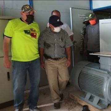 "Diario Frontera, Frontera Digital,  PLANTA DON LUIS ZAMBRANO, Panamericana, ,Ministro de Energía Eléctrica inspeccionó planta ""Don Luis Zambrano"" en Mérida"