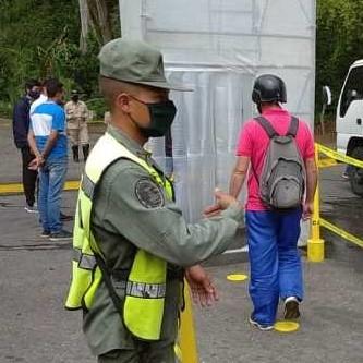 Diario Frontera, Frontera Digital,  LA VICTORIA, Mocoties, ,Instalan punto de desinfección en sector La Victoria  del municipio Pinto Salinas de Mérida