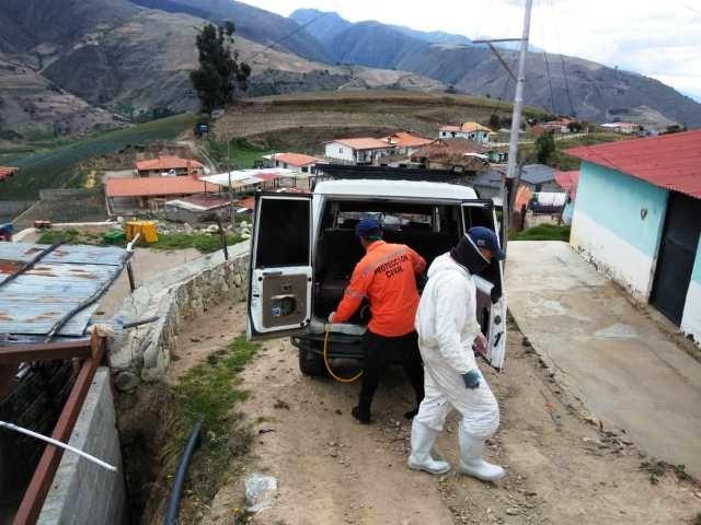 Diario Frontera, Frontera Digital,  MUNICIPIO RANGEL, Páramo, ,PC desinfectó 400 vehículos y 230 motos  durante jornada preventiva del COVID-19 en Mucuchíes