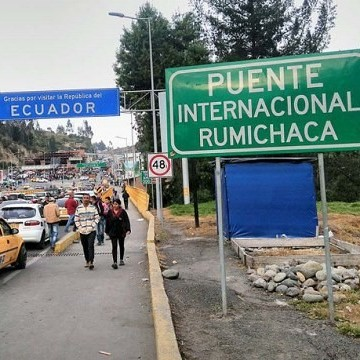 Diario Frontera, Frontera Digital,  FRONTERA ECUADOR, VENEZOLANOS, Internacionales, ,Reprimen a migrantes venezolanos  que intentaban entrar a Colombia por frontera de Ecuador