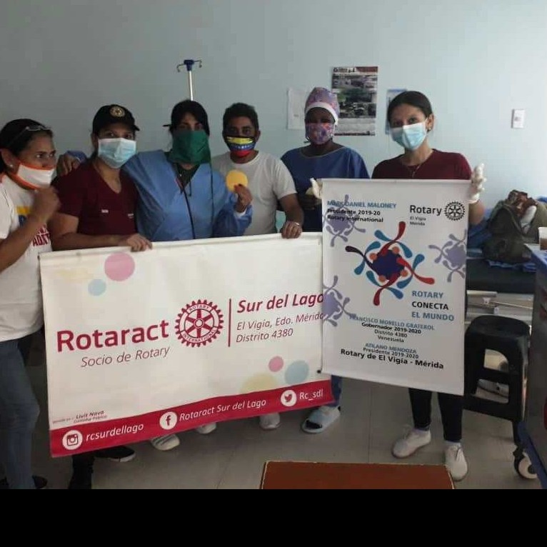 Diario Frontera, Frontera Digital,  ROTARAC, Panamericana, ,ROTARACT  OBSEQUIO AREPA  A PACIENTE  Y FAMILIARES DEL HOSPITAL IV DE EL VIGÍA