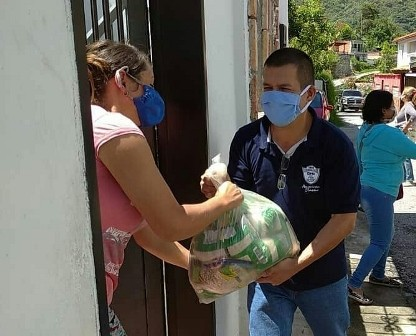 Diario Frontera, Frontera Digital,  MUNICIPIO SANTOS MARQUINA, Páramo, ,EMA distribuyó alimentos a cuatro CLAP de Tabay