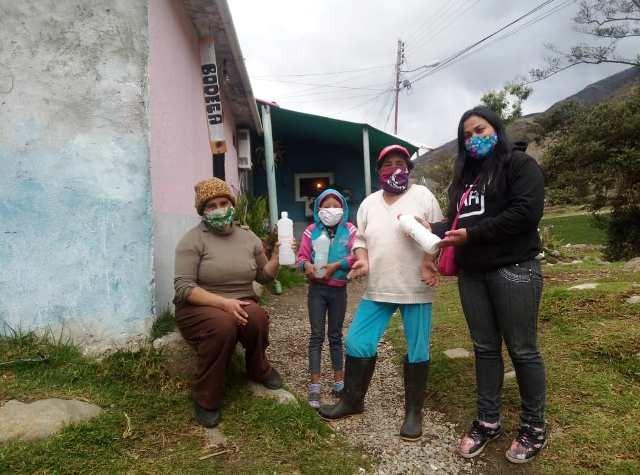 """Diario Frontera, Frontera Digital,  MUNICIPIO RANGEL, Páramo, ,""""Plan Cloro"""" atendió 635 familias de La Toma y Mucuchíes"""