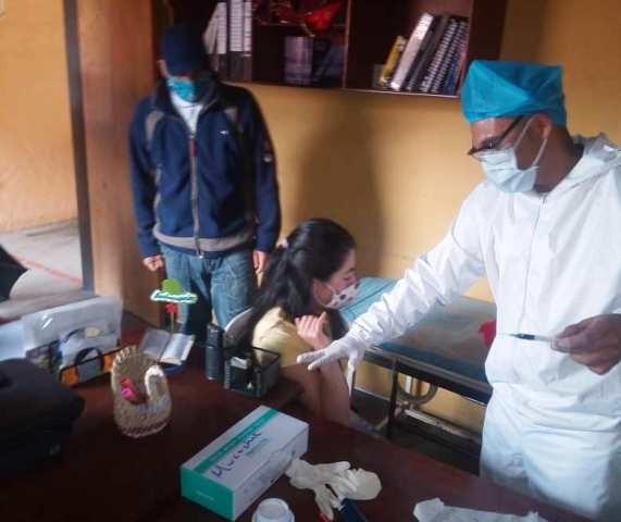 Diario Frontera, Frontera Digital,  ALCALDÍA DE RANGEL, Páramo, ,Aplican prueba rápida de COVID-19  a trabajadores de la alcaldía de Rangel