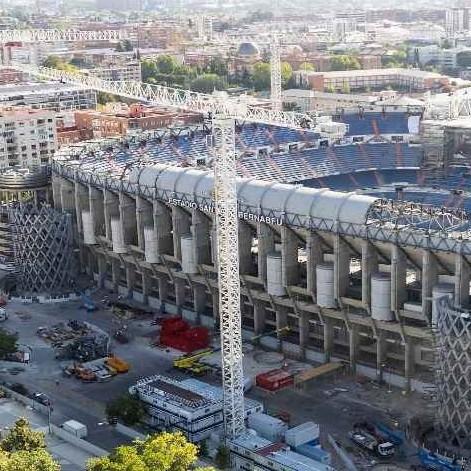 Diario Frontera, Frontera Digital,  Santiago Bernabéu, Deportes, ,Obras del nuevo estadio del Real Madrid se aceleraron en pandemia