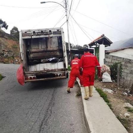 Diario Frontera, Frontera Digital,  MUNICIPIO RANGEL, Páramo, ,Reactivado el servicio de aseo urbano en la jurisdicción de Rangel