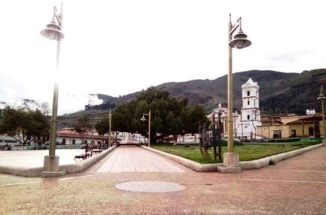 Diario Frontera, Frontera Digital,  PLAZA BOLÍOVAR DE MUCUCHÍES, Páramo, ,Rehabilitación de la plaza Bolívar de Mucuchíes  avanza en un 40 por ciento