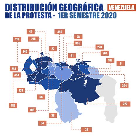 Diario Frontera, Frontera Digital,  Observatorio Venezolano de Conflictividad Social, Nacionales, ,OVCS registró 4.414 protestas en Venezuela durante el primer semestre