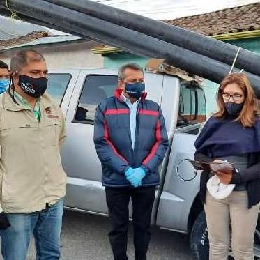 Diario Frontera, Frontera Digital,  OUEBLO LLANO, Páramo, ,El Arbolito en Pueblo Llano recibió mangueras para su sistema de riego