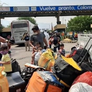 Diario Frontera, Frontera Digital,  VENEZOLANOS, COLOMBIA, Internacionales, ,Más de 90.000 venezolanos  han abandonado Colombia durante la pandemia