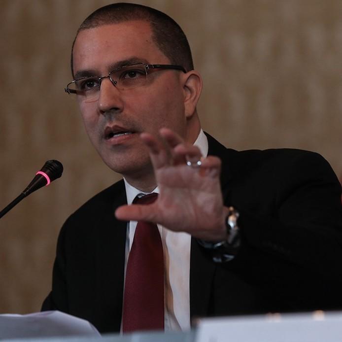 """Diario Frontera, Frontera Digital,  CANCILLER DE VENEZUELA, JORGE ARREAZA, Nacionales, ,Arreaza denuncia """"asalto""""  a la sede consular de Venezuela en Bogotá"""