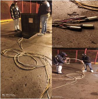 Diario Frontera, Frontera Digital,  FAES, Sucesos, ,FAES-Mérida logró  que delincuentes abortaran intento de extracción  ilegal de gasolina en la Estación de Servicios Apartaderos