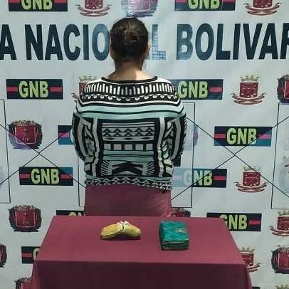 Diario Frontera, Frontera Digital,  LA VICTORIA EN MÉRIDA, Sucesos, ,GNB capturó mujer con casi medio kilo de cocaína en La Victoria-Mérida