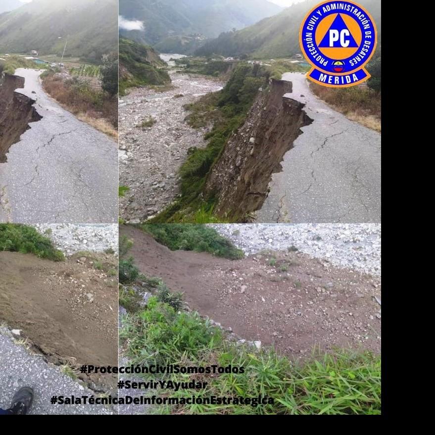 Diario Frontera, Frontera Digital,  MUNICIPIO CARDENAL QUINTERO, Páramo, ,Protección Civil atiende deslizamiento de tierra en Aracay