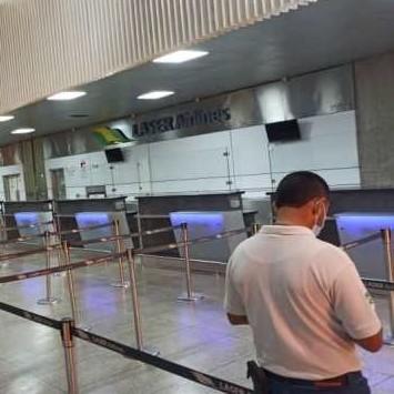 """Diario Frontera, Frontera Digital,  AEROPUWERTO DE SIMÓN BOLÍVAR, Nacionales, ,Autoridades del aeropuerto de Maiquetía  adaptan las instalaciones a la """"nueva normalidad"""""""