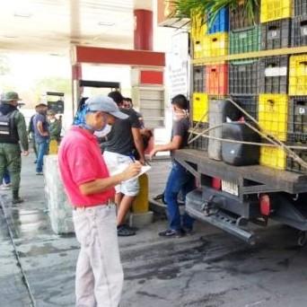 Diario Frontera, Frontera Digital,  SANTOS MARQUINA, PROPDUCTORES, COMBUSTIBLE, Páramo, ,Productores de Santos Marquina  reciben atención prioritaria en el suministro de combustible