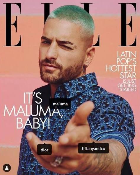 Diario Frontera, Frontera Digital,  MALUMA, Farándula, ,Maluma, el primer hombre en reinar  en la portada de la revista ELLE en EEUU