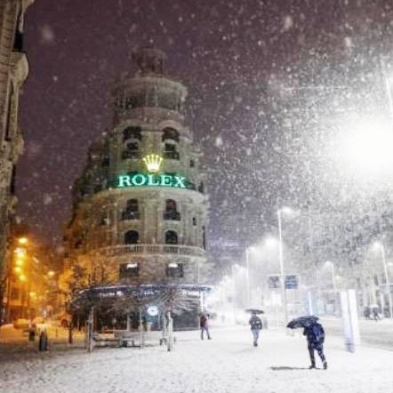 Diario Frontera, Frontera Digital,  MADRID, ESPAÑA, .NEVADA, Internacionales, ,Madrid bloqueado por histórica nevada en España