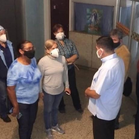 Diario Frontera, Frontera Digital,  IAHULA, Salud, ,Entregan lote de Remdesivir y Favipiravir al Iahula  e inspeccionan piso 3 para su recuperación